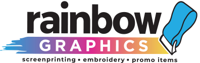Rainbow Graphics | Screenprinting, Embroidery, Promo Items | Manchester, CT